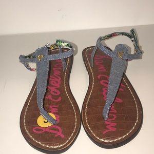 Sam Edelman girls thong sandal